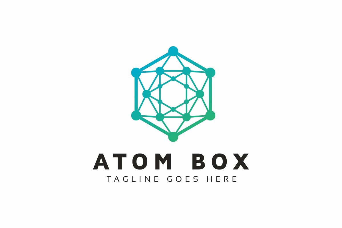 Atom Box Logo example image 1