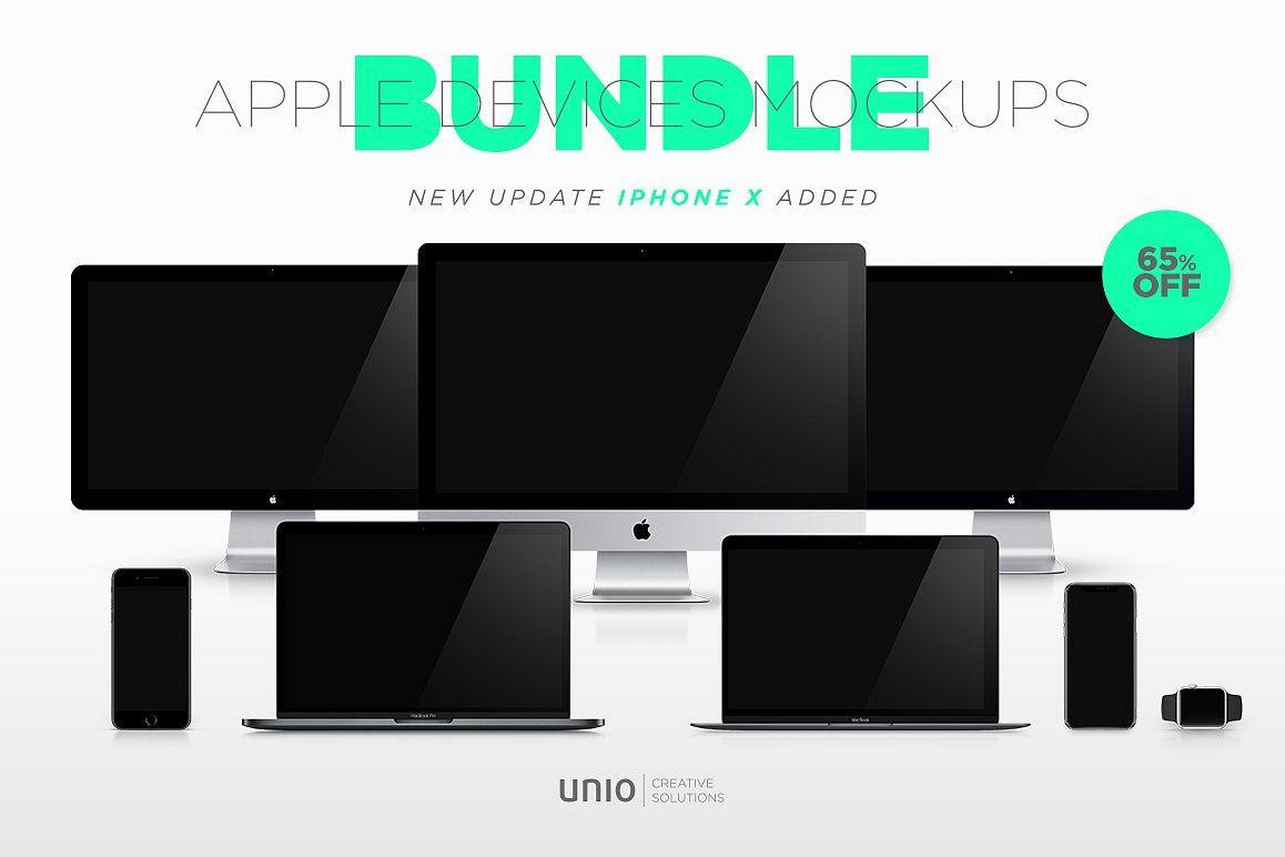 Apple Mockup Devices Bundle example image 1