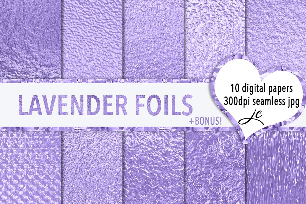 Lavender Foils example image 1
