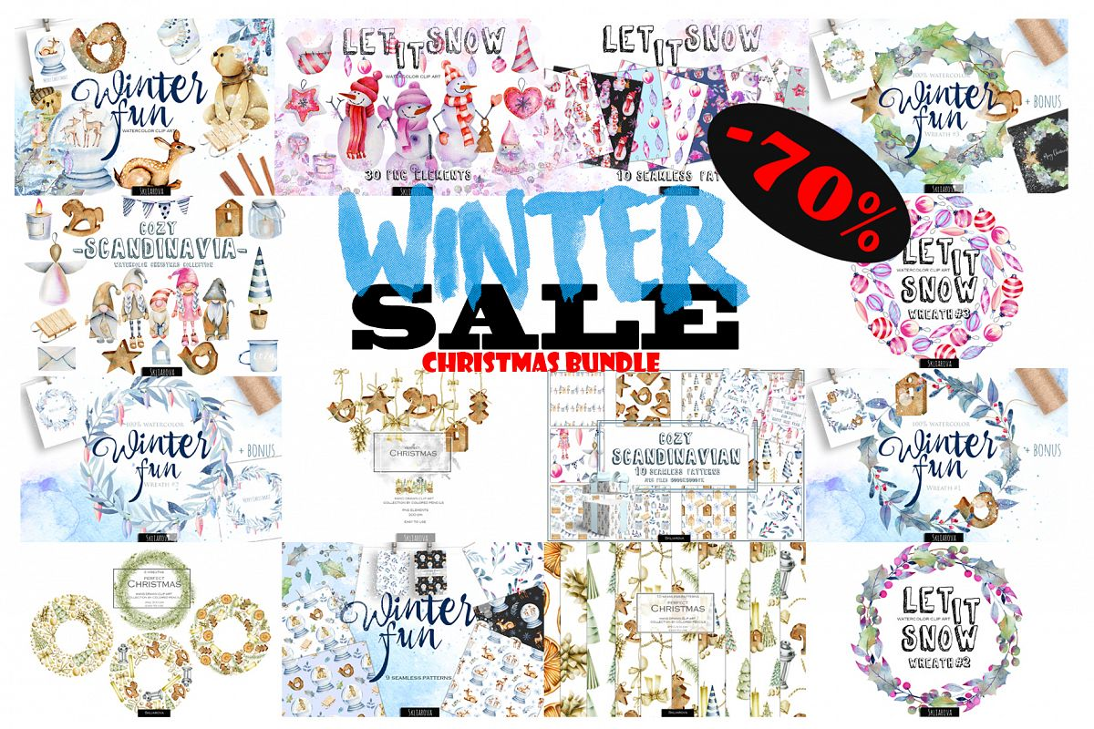 Christmas bundle example image 1