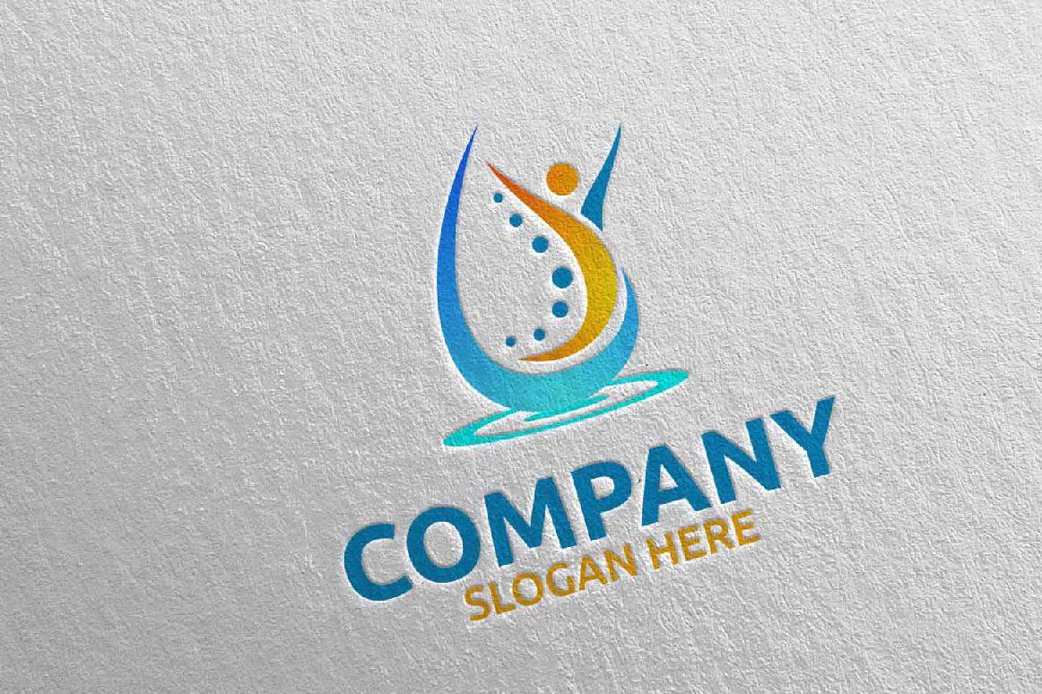 Massage Logo Design 11 example image 1