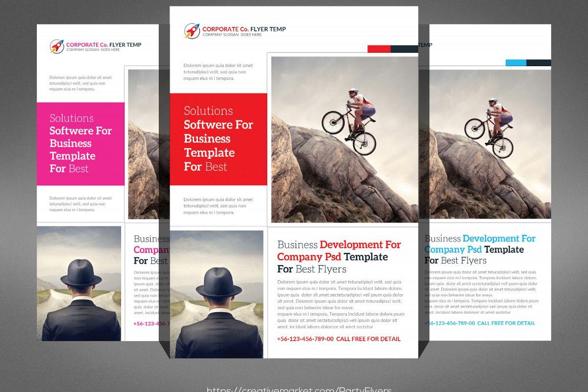 Global Business Flyer example image 1
