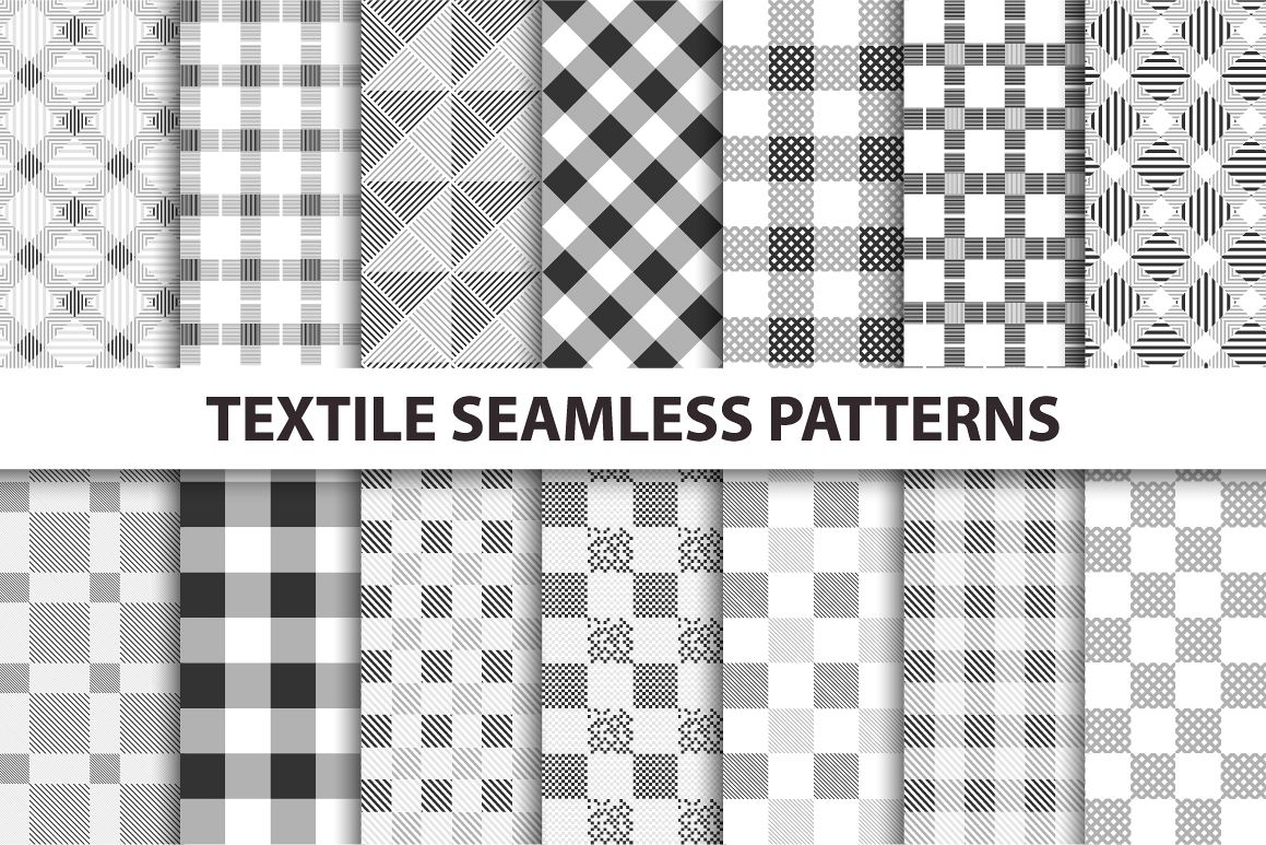 Cloth seamless patterns. example image 1