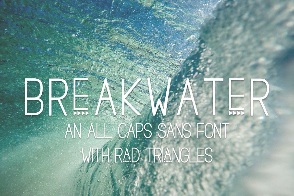 Breakwater Sans Font example image 1