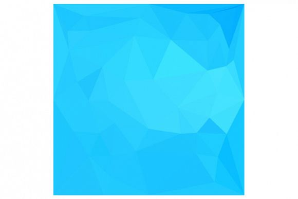 Dark Turquoise Abstract Low Polygon Background example image 1
