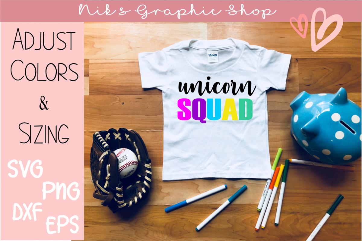 Unicorn Squad Svg, Unicorn Svg, Unicorn Squad, Cute Shirtsvg example image 1