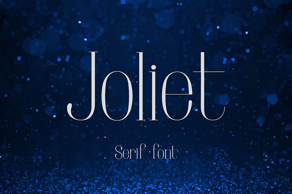 Joliet - Font example image 1