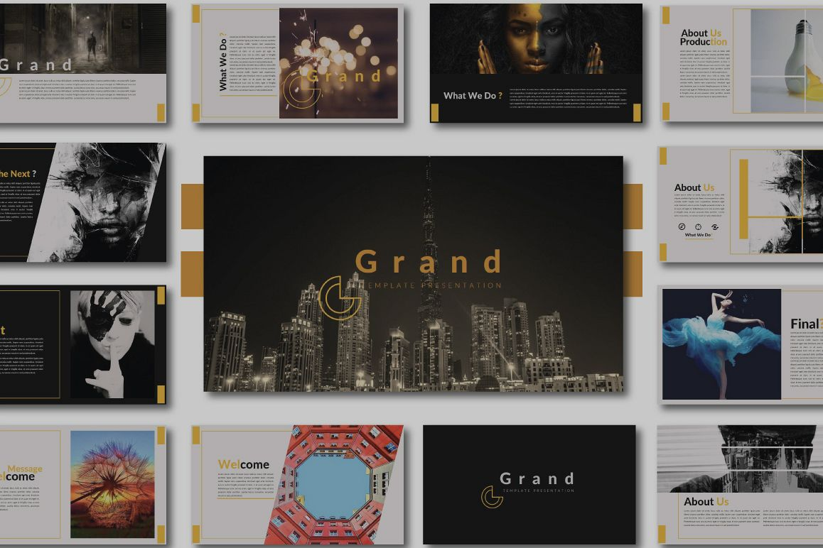 Grand Powerpoint Template example image 1
