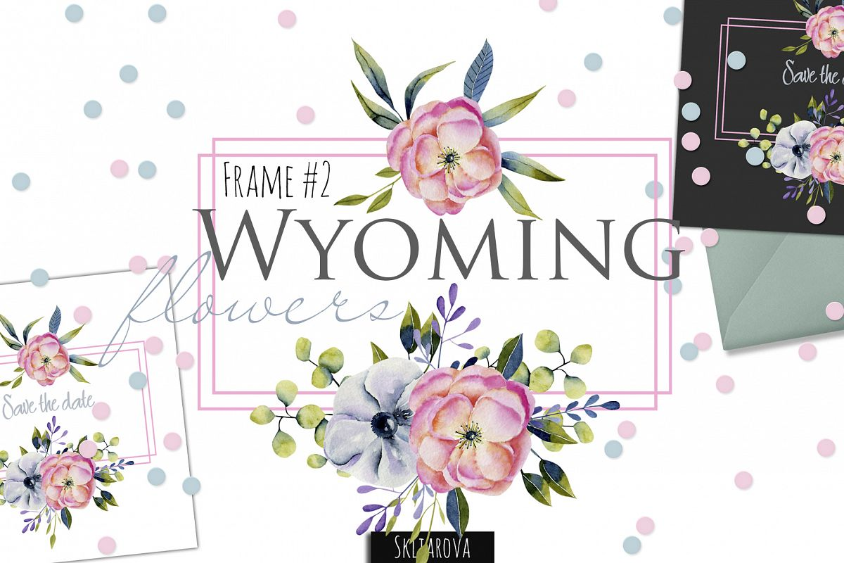 Wyoming flowers. Frame #2 example image 1