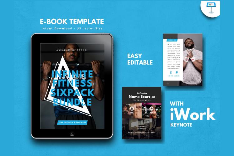 Fitness Ebook Template Easy Editable Using Keynote