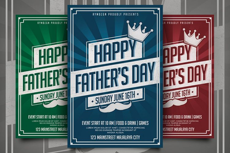 Fathers Day Flyer example image 1