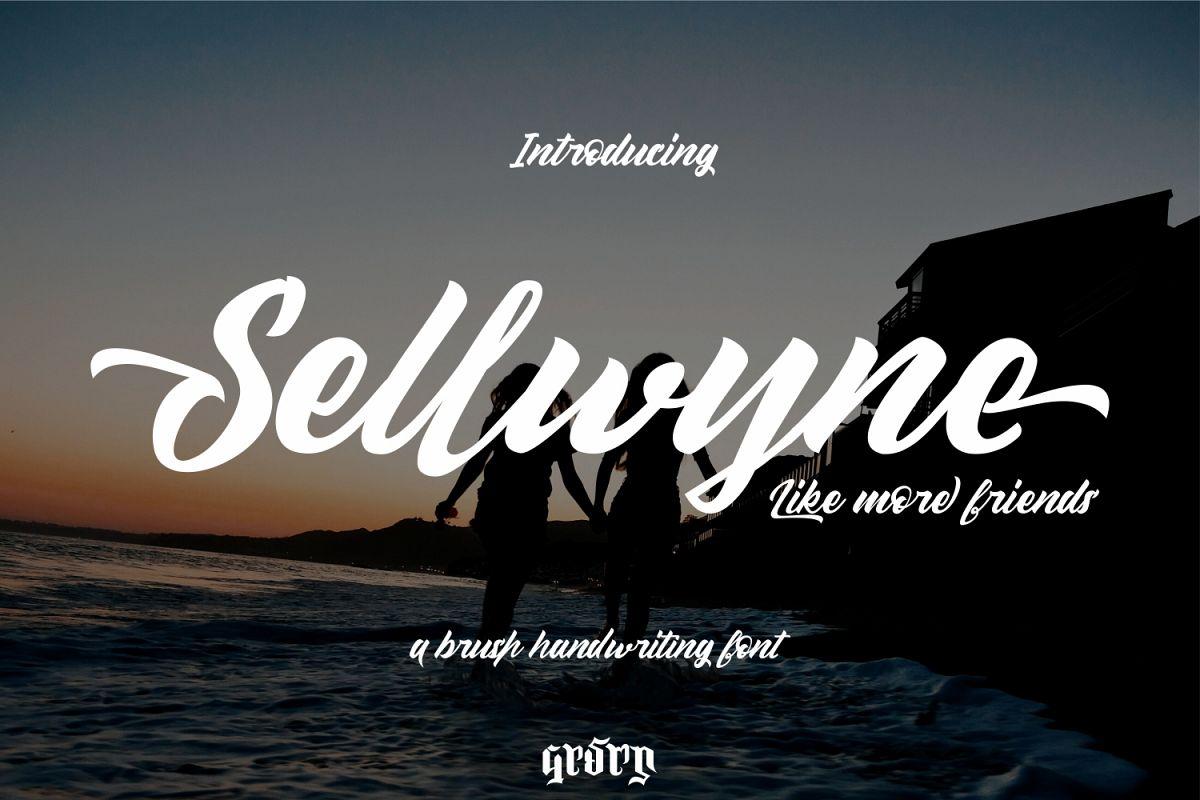 Sellwyne Script example image 1