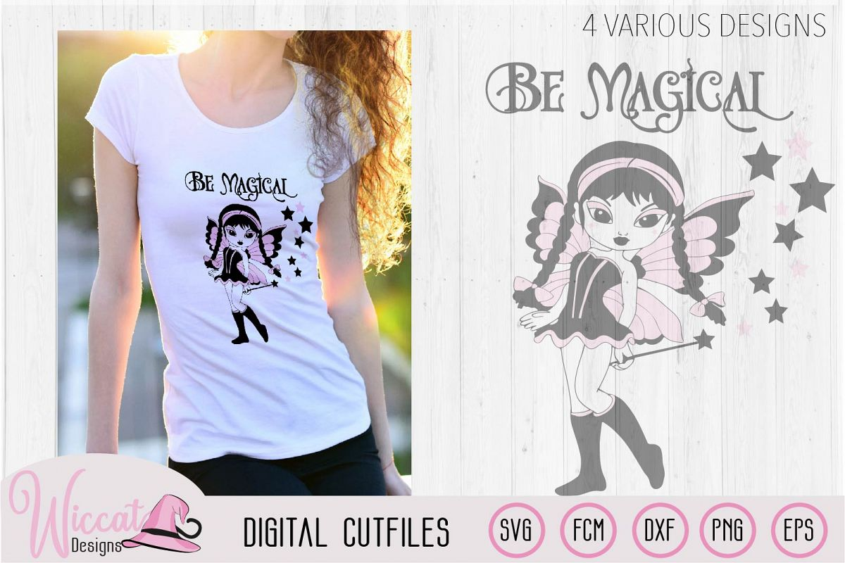 Fairy bundle, gothic fairy, magical creatures t shirt example image 1