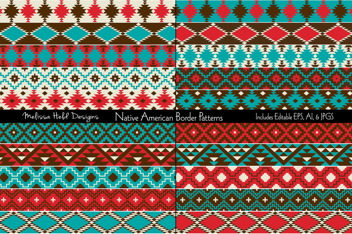 Native American Border Patterns example image 1