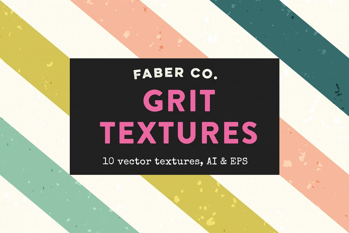 Vintage Grit Vector Textures example image 1