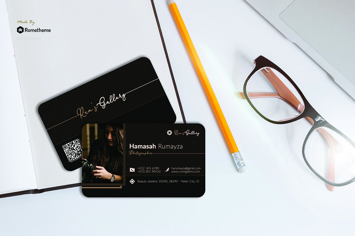 Business Card vol. 17 example image 1