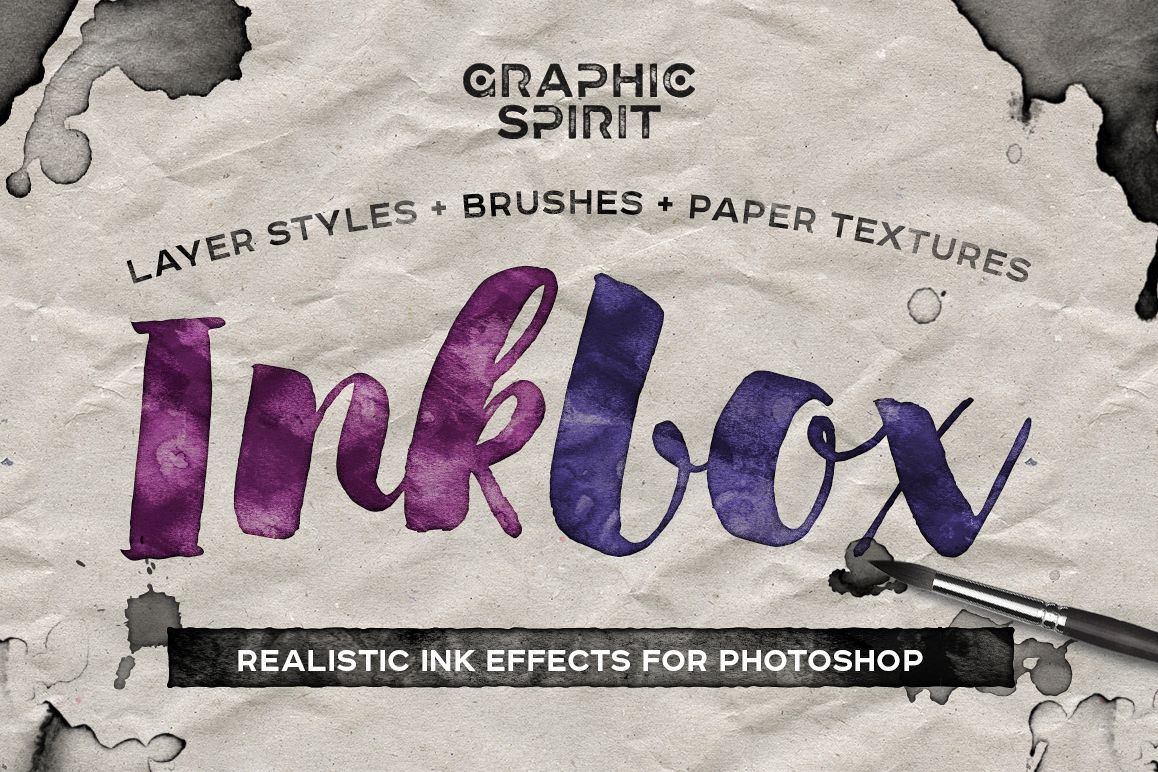 INKBOX: Realistic Ink Effects example image 1