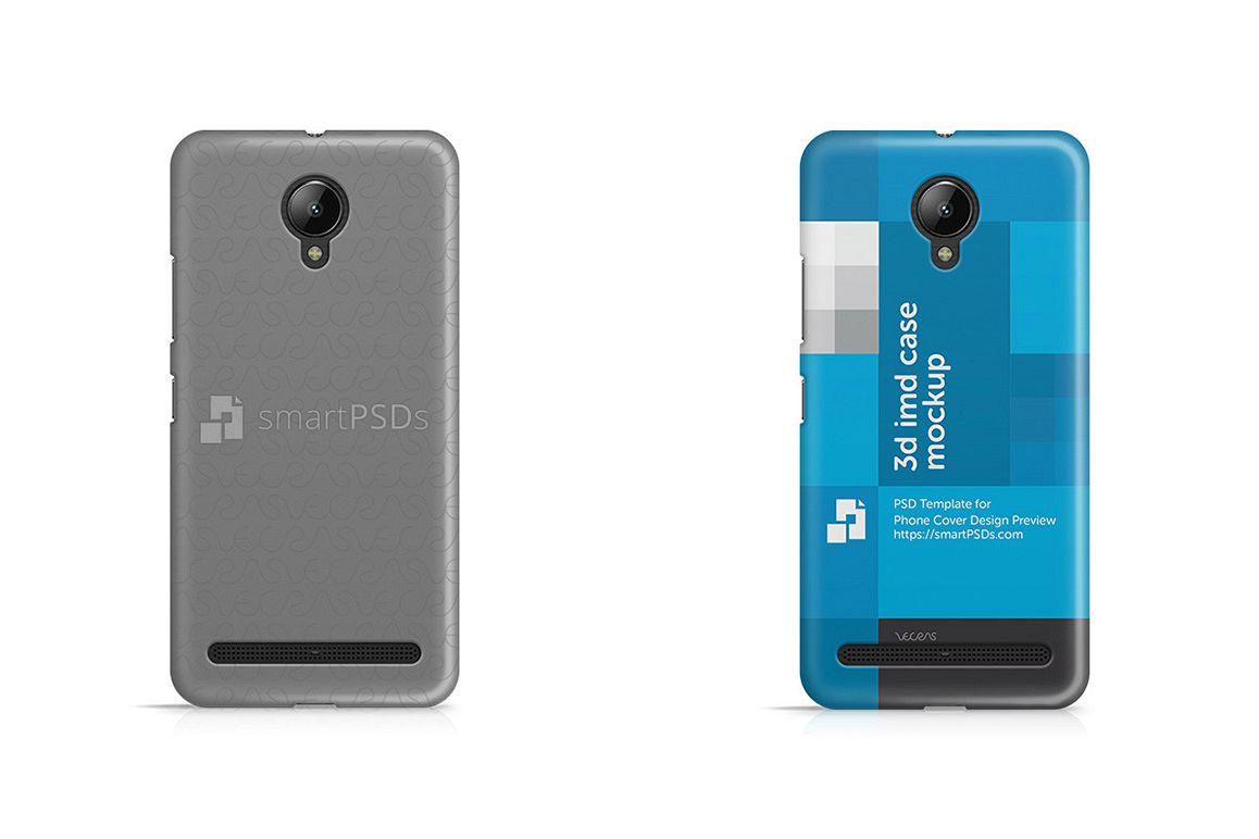 Lenovo Vibe C2 3d IMD Mobile Case Design Mockup 2016 example image 1