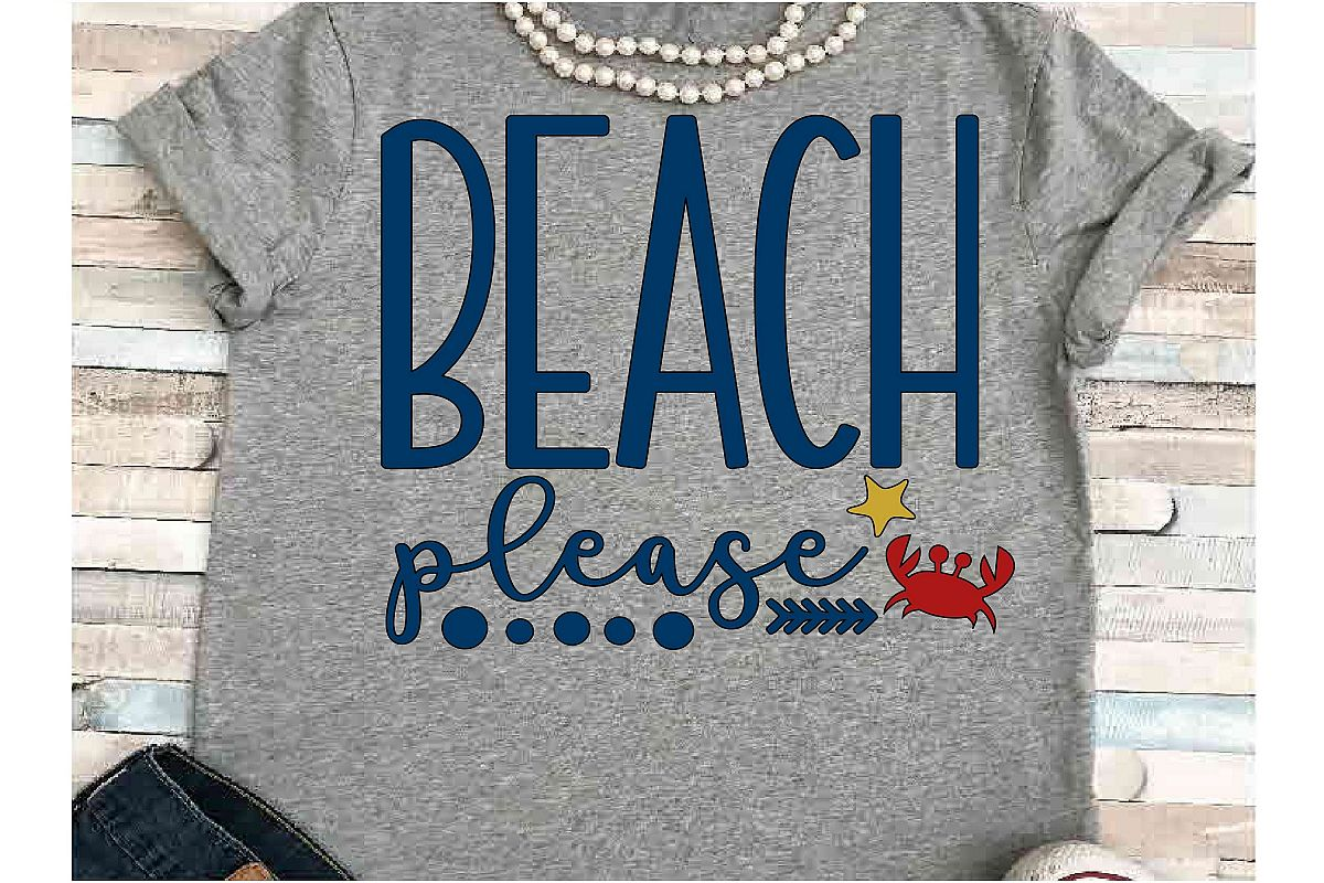 Beach SVG DXF JPEG Silhouette Cameo Cricut vacation svg example image 1