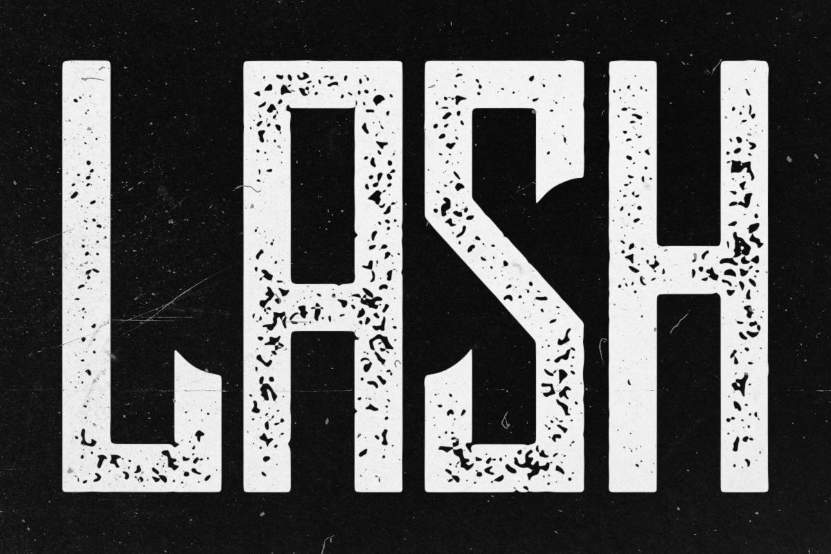 Lash Typeface example image 1