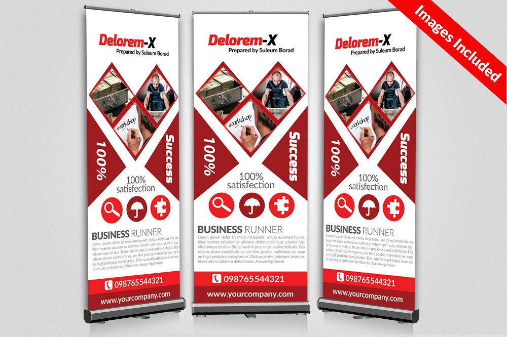 Business Respondent Roll Up Banners example image 1