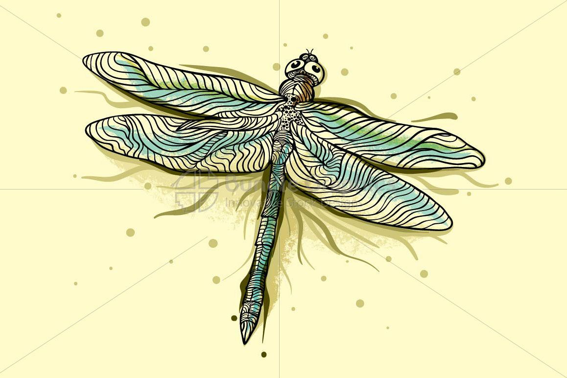 Dragonfly - Beautiful Insect Graphics example image 1