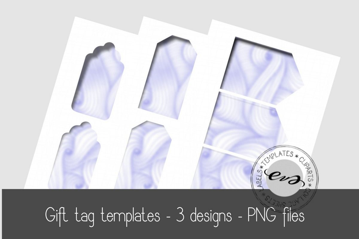Digital Gift tag templates example image 1
