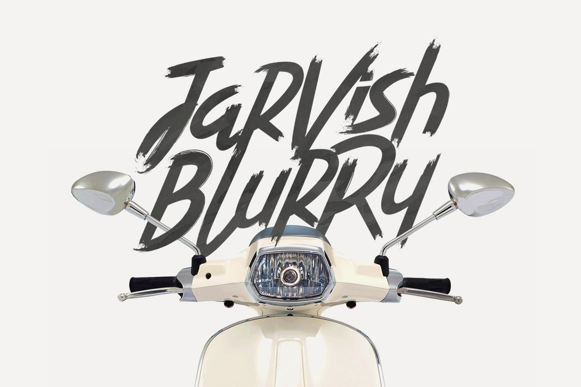 Jarvish Blurry example image 1