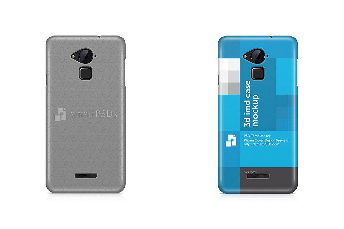 CoolPad Note 3 Lite 3d IMD Mobile Case Design Mockup 2016 example image 1