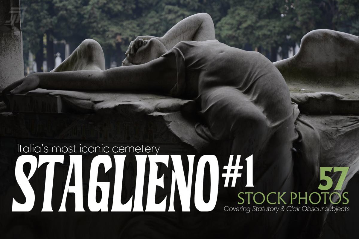 STAGLIENO#1 Funeral Art Stock Bundle example image 1