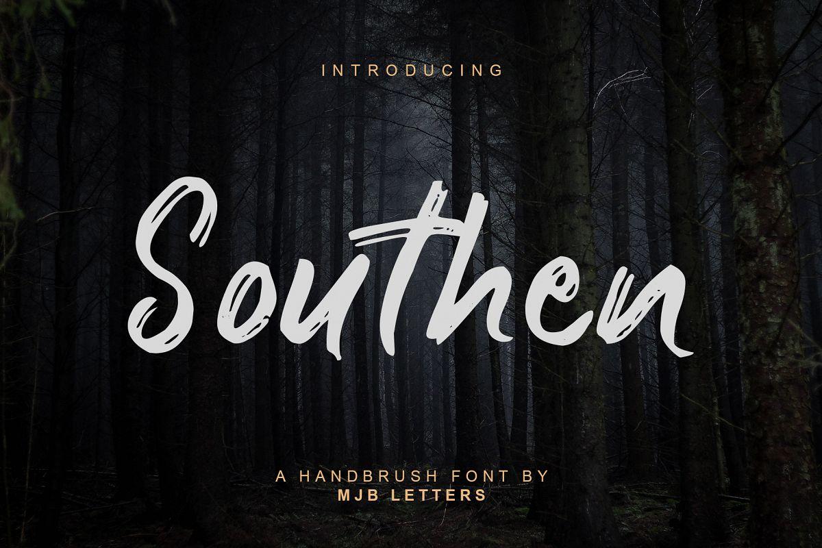 Southen Brush Font example image 1