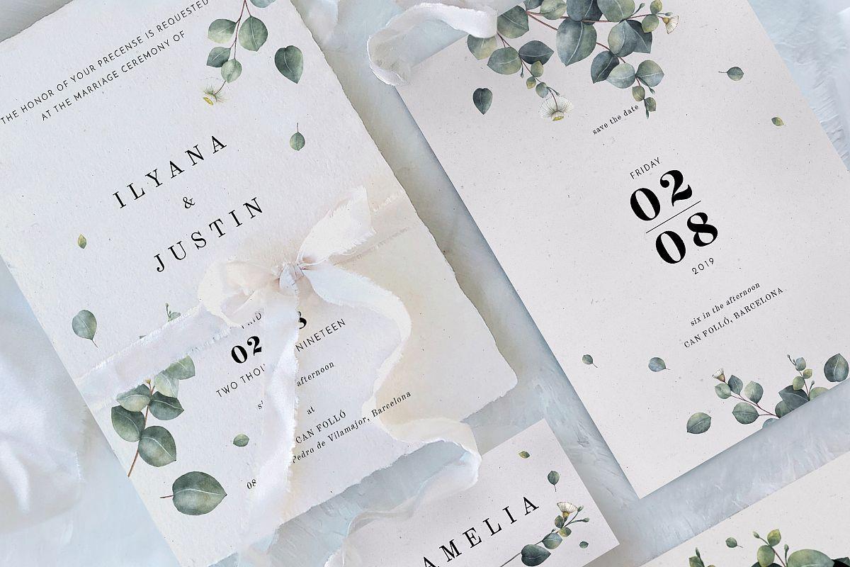 Eucalyptus Foliage Wedding Suite example image 1