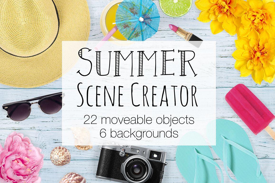 Summer Scene Creator - Top View example image 1