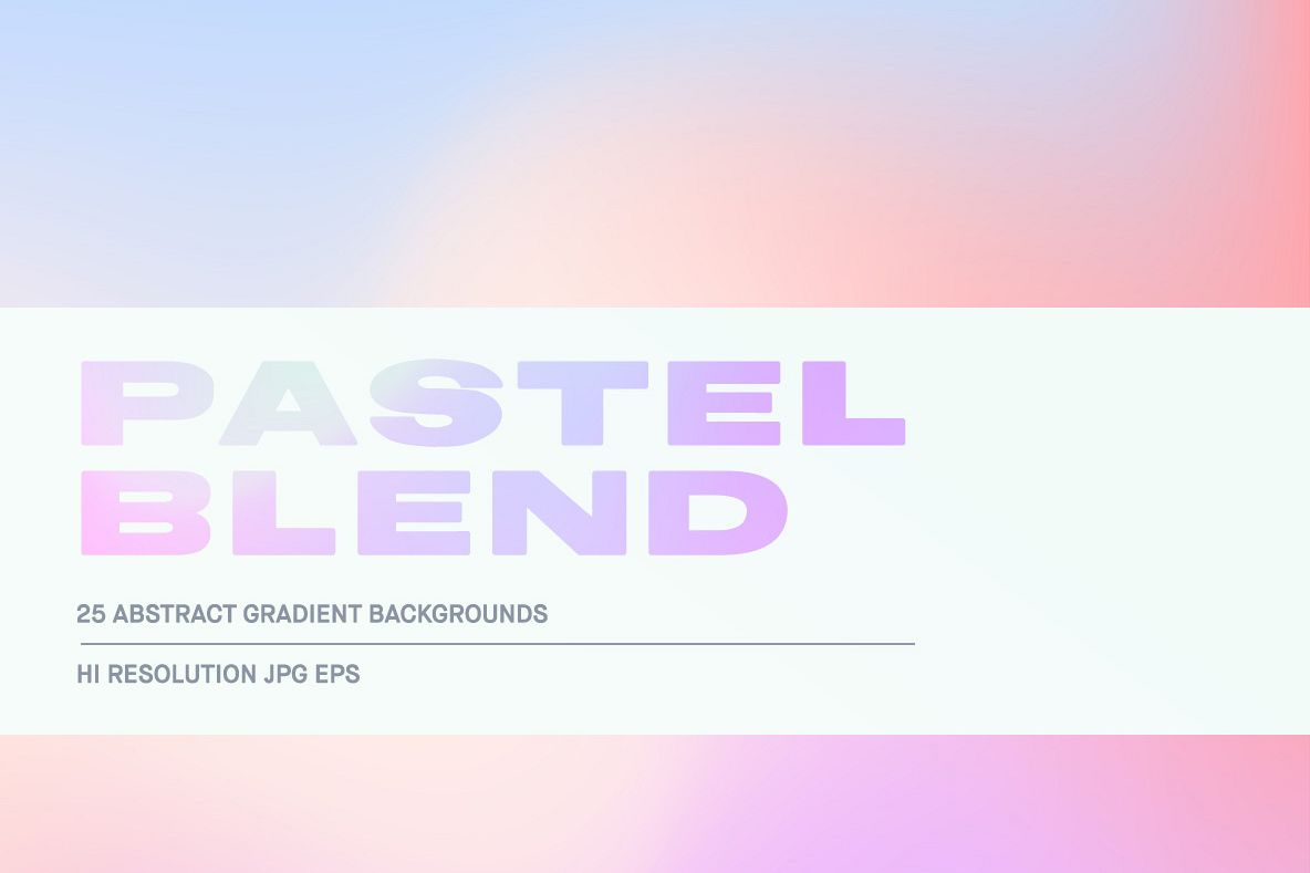 Pastel Blend example image 1