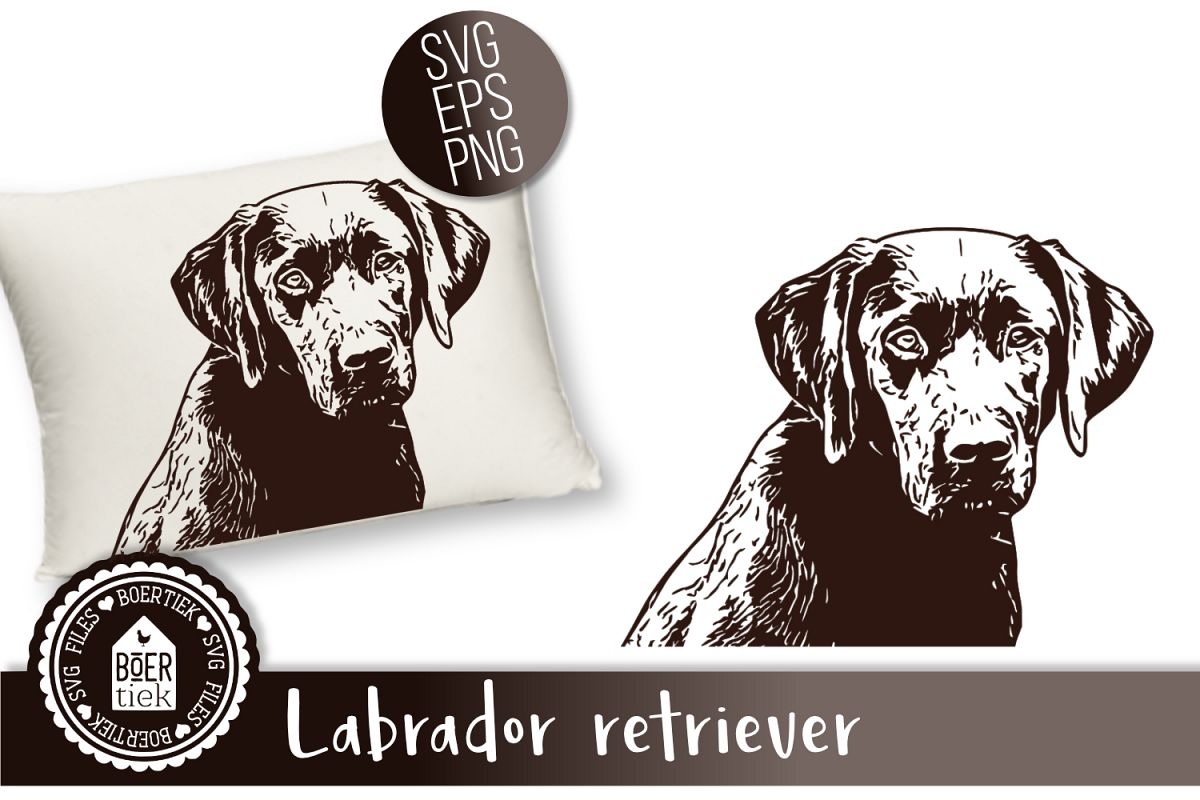 Labrador, cutting file example image 1