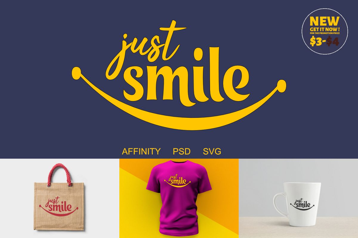 Just Smile Craft example image 1