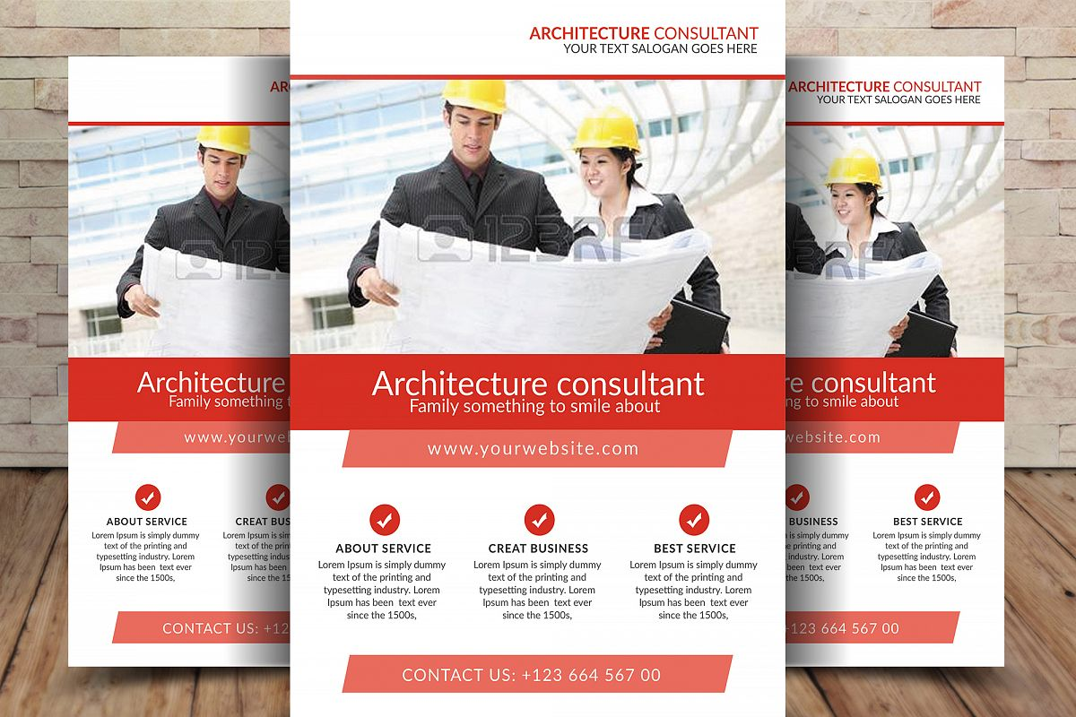 Architecture Consultant Flyer example image 1