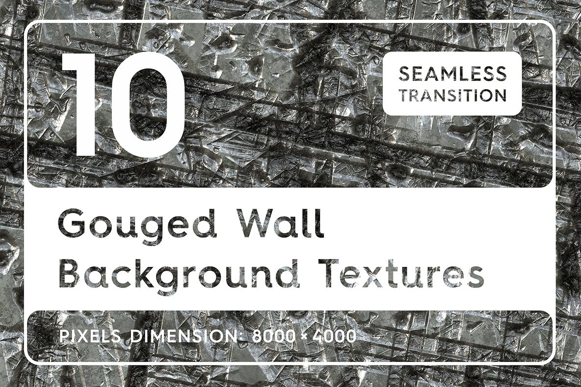 10 Gouged Wall Background Textures example image 1