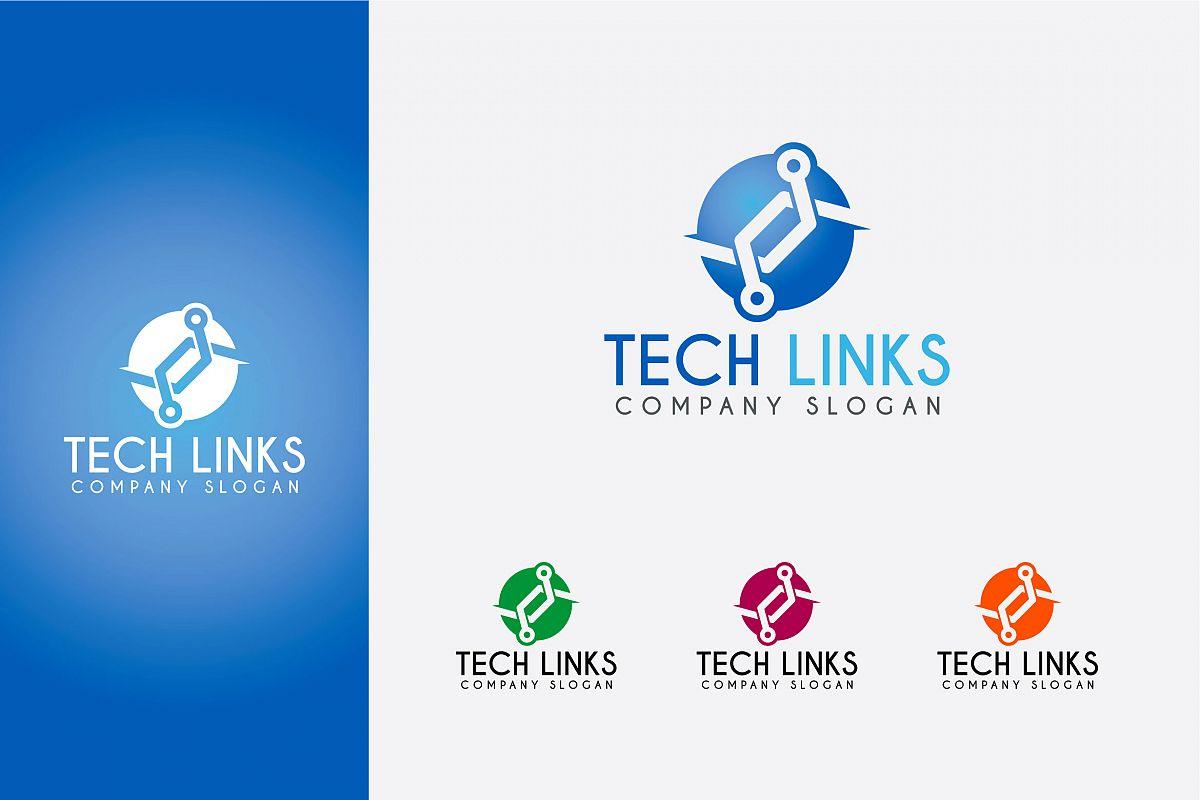 TECH LINKS LOGO example image 1