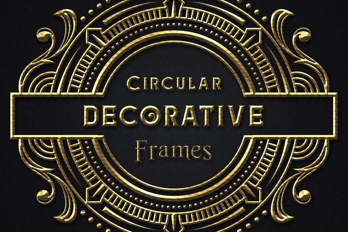 Circular Decorative Frames example image 1