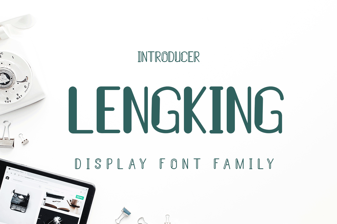LENGKING FONT FAMILY example image 1
