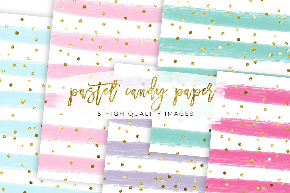 Confetti watercolor transparent.