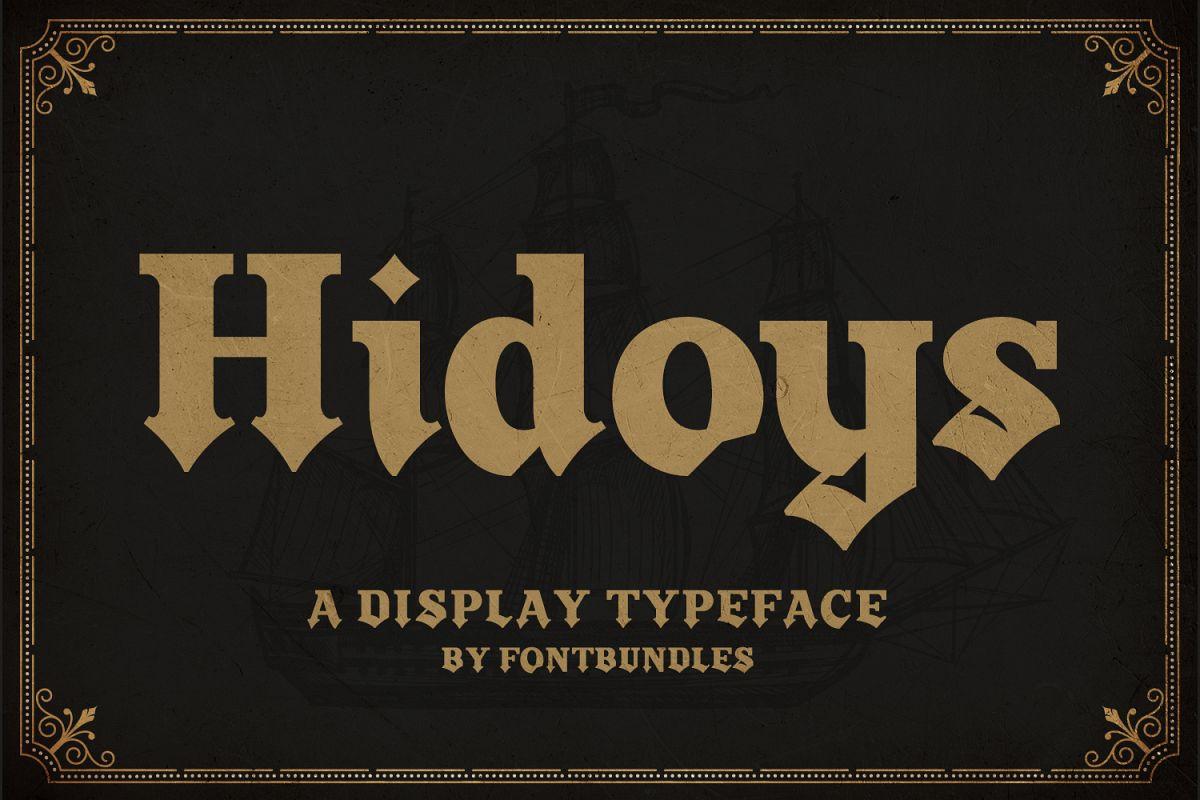 Hidoys example image 1