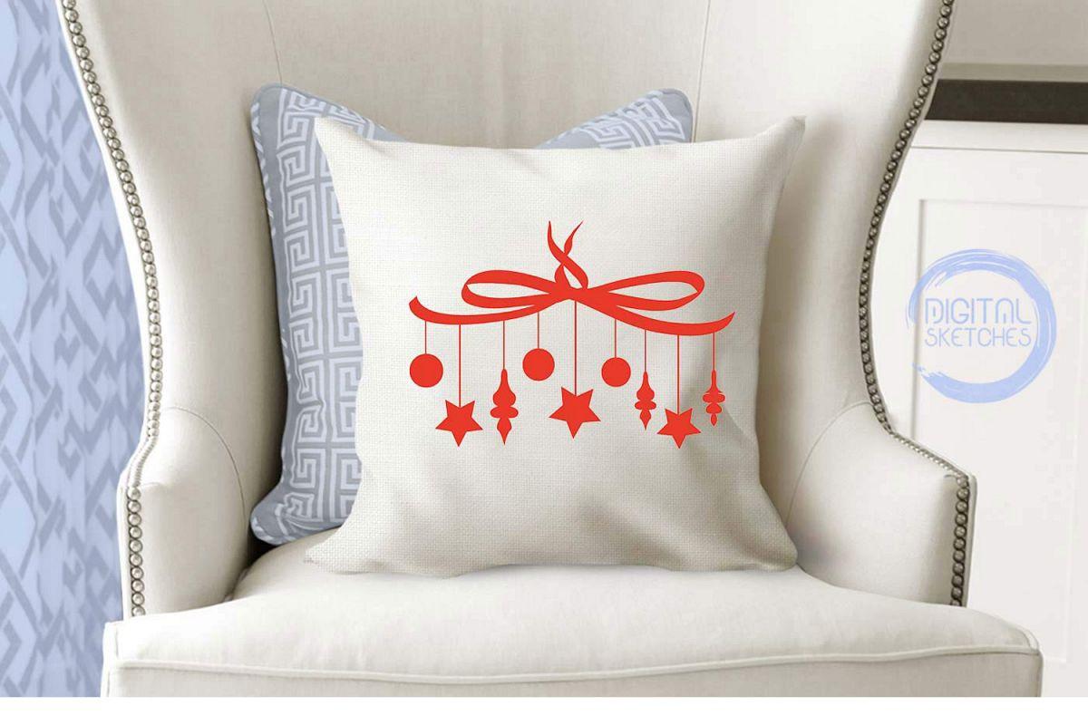 Christmas Stars Cut File Vector Graphics Illustration example image 1