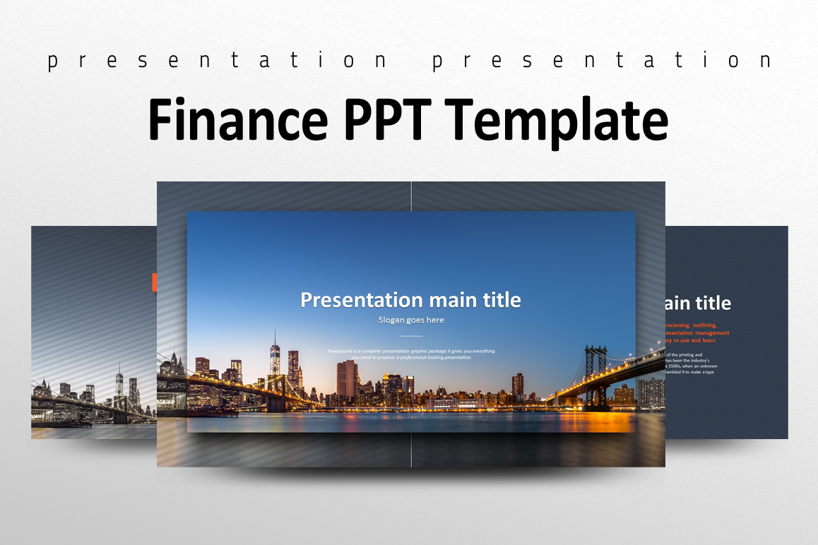 Finance PPT Template example image 1