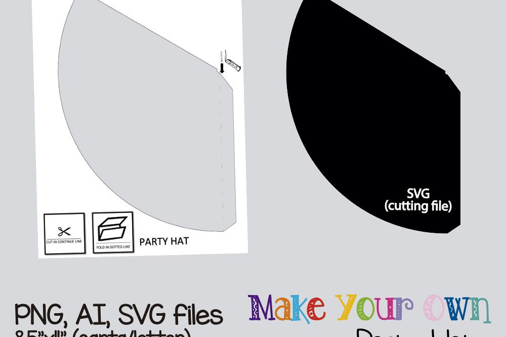 image regarding Party Hat Templates Printable called Social gathering hat template, collage sheet template, electronic template, collage template, printable template, collage electronic, PNG, AI, SVG.