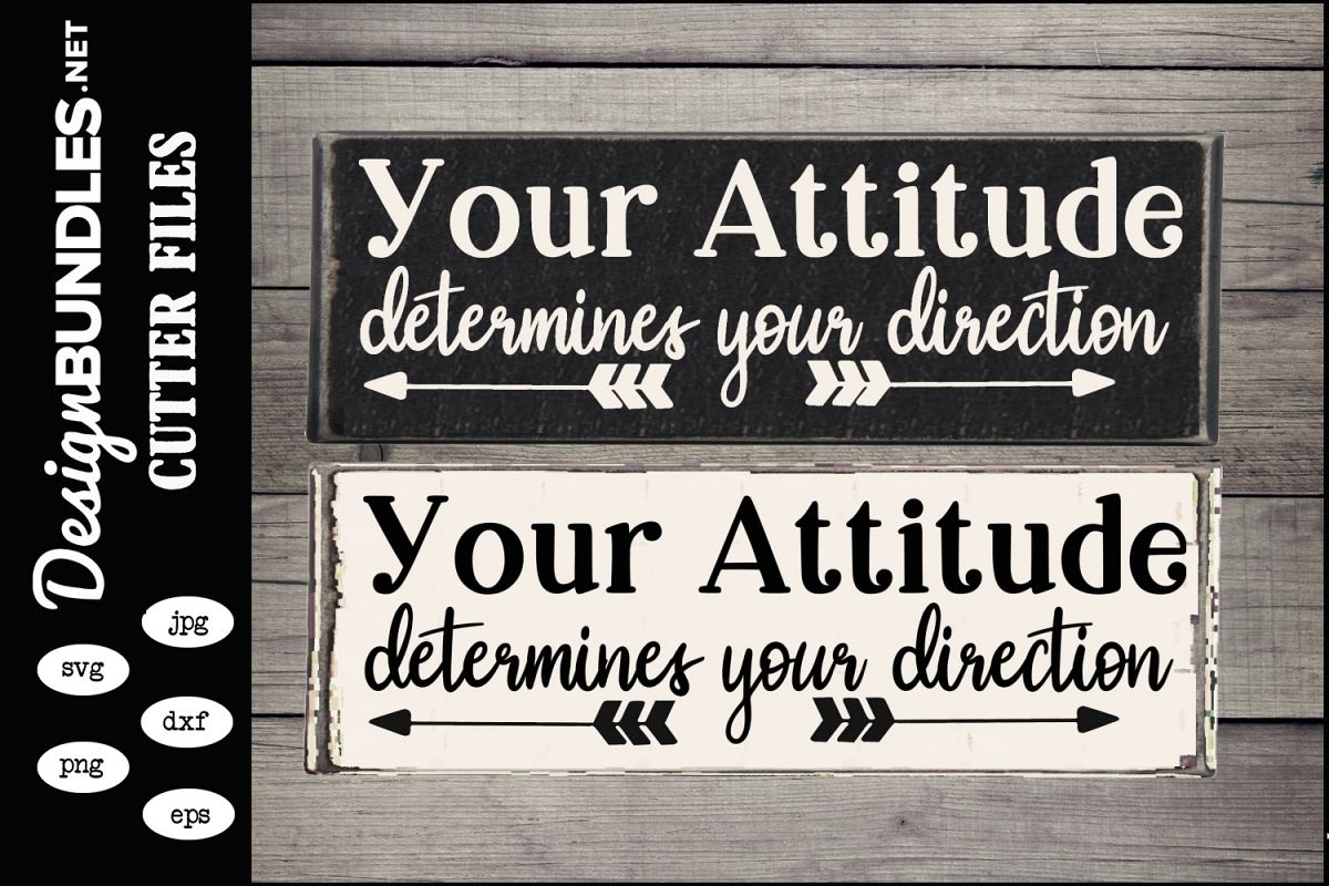 Your Attitude SVG example image 1