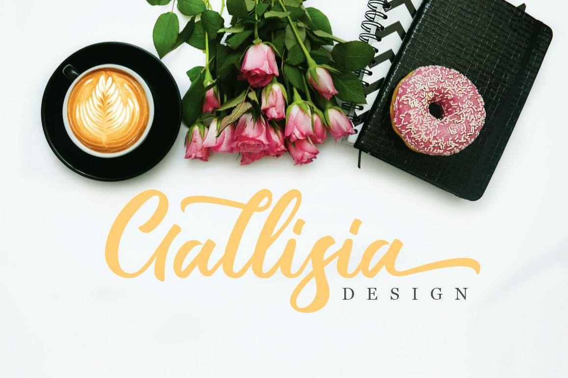 Gallisia Design Script example image 1