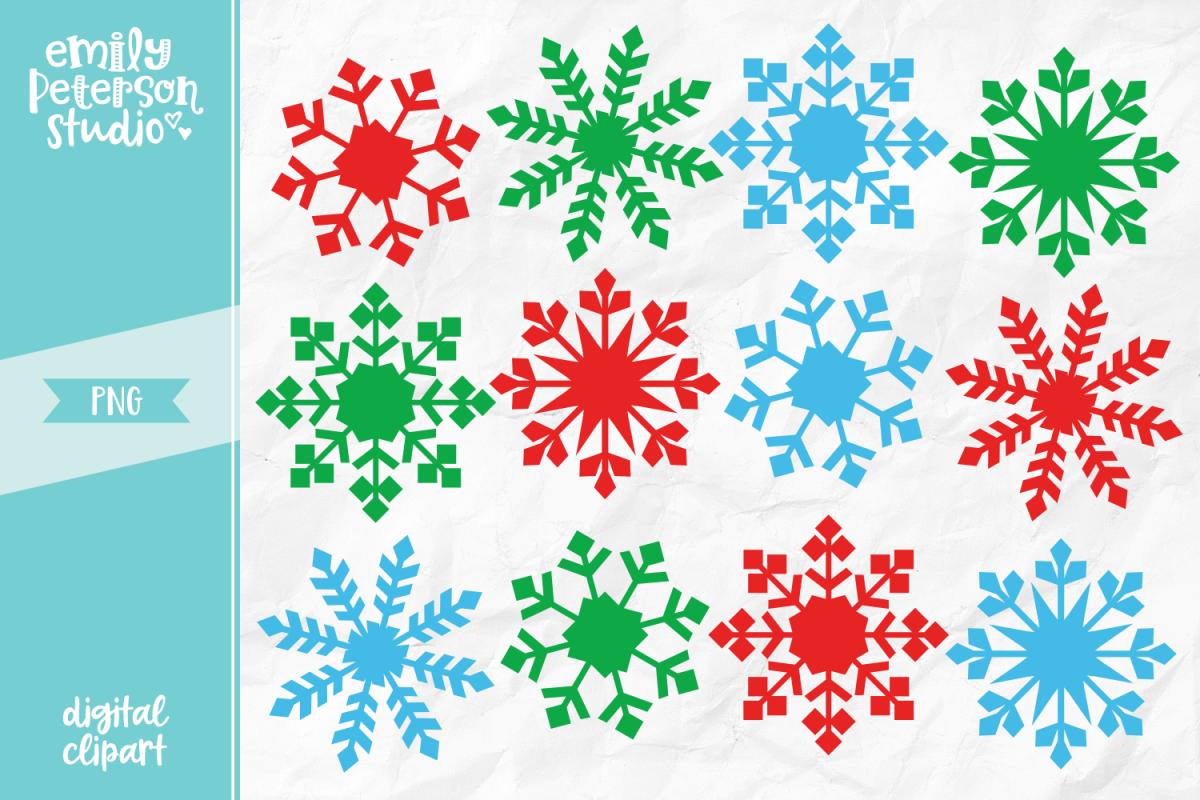 Christmas Snowflakes.Christmas Snowflakes Clipart Illustration Png