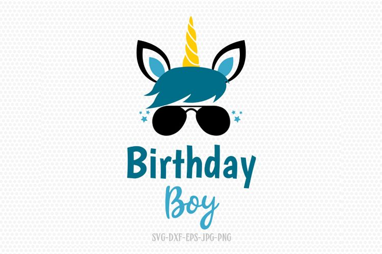 boy unicorn svg, unicorn eyelashes, boy unicorn birthday svg